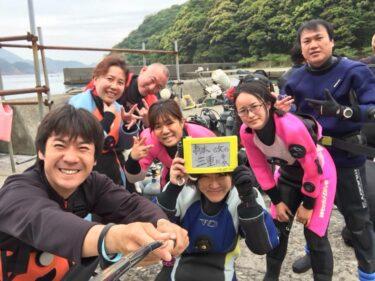 和歌山県でダイビング!! Part1