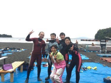 大瀬崎でボートダイビング!